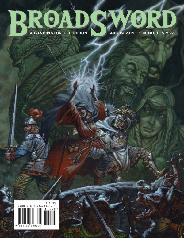 BroadSword Monthly Issue #1 available at dmdave.com