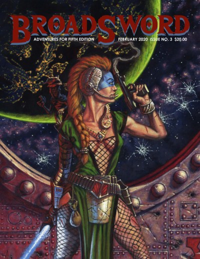BroadSword Monthly Issue #3 available at dmdave.com