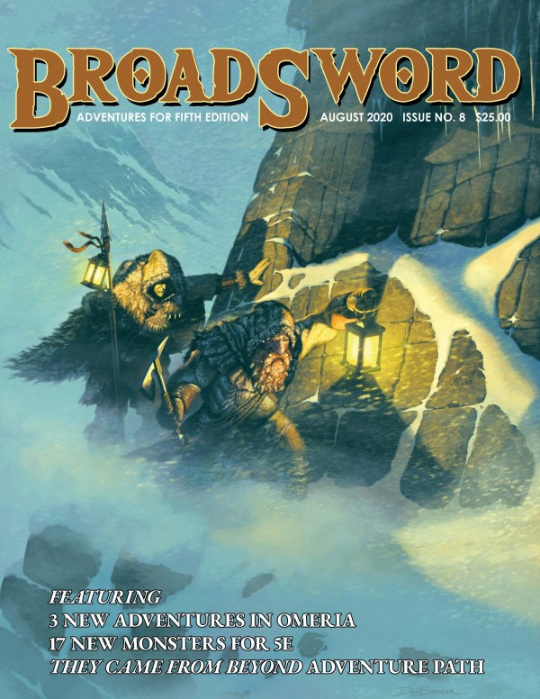 BroadSword Monthly Issue #8 available at dmdave.com