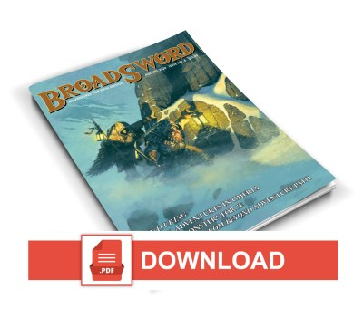 BroadSword Issue 8