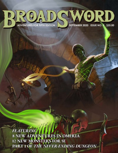 BroadSword Monthly Issue #9 available at dmdave.com