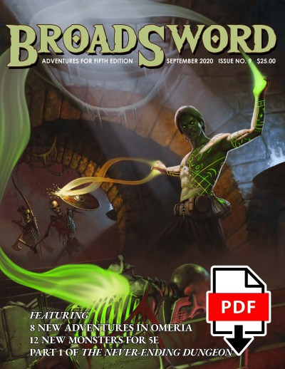 BroadSword Monthly Issue #9 PDF available for instant download at dmdave.com