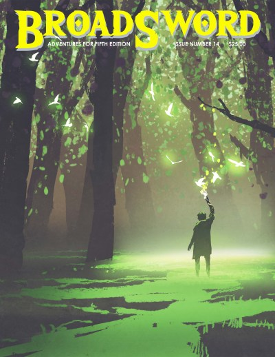 BroadSword issue 14 - buy it now at dmdave.com