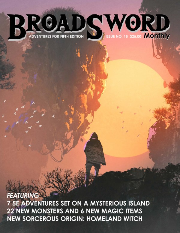 BroadSword Issue 15 (Print) by DMDave, Scott Craig and others. Available at dmdave.com/shop