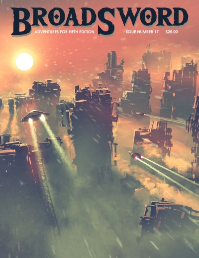 BroadSword issue 17 - buy it now at dmdave.com