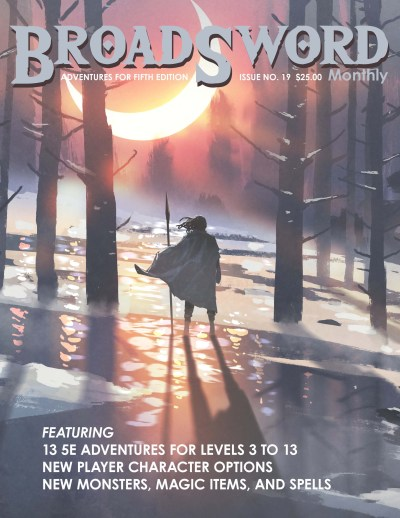 BroadSword issue 19 - buy it now at dmdave.com