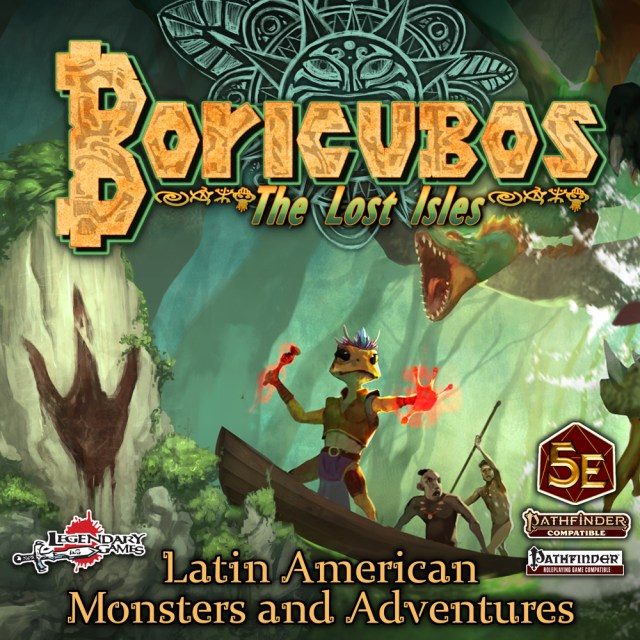 Boricubos: Latin American Monsters & Adventures cover image.