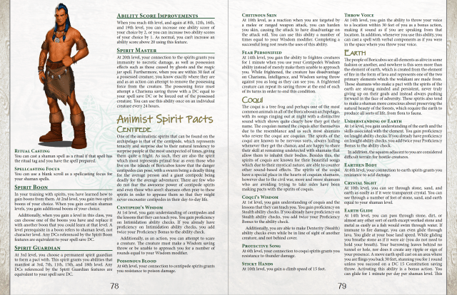 Boricubos: Latin American Monsters & Adventures sample page