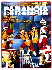 Paranoia 1st edition game