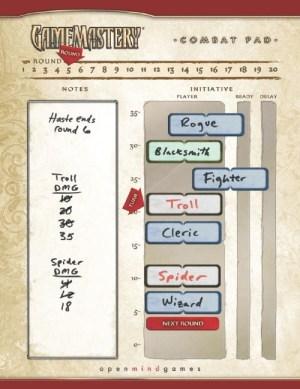 Gamemastery Combat Pad