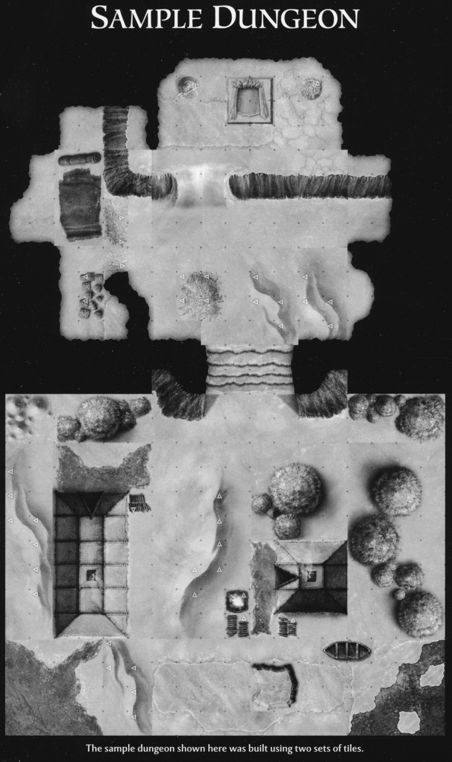 DN1 Caverns of Icewind Dale sample dungeon