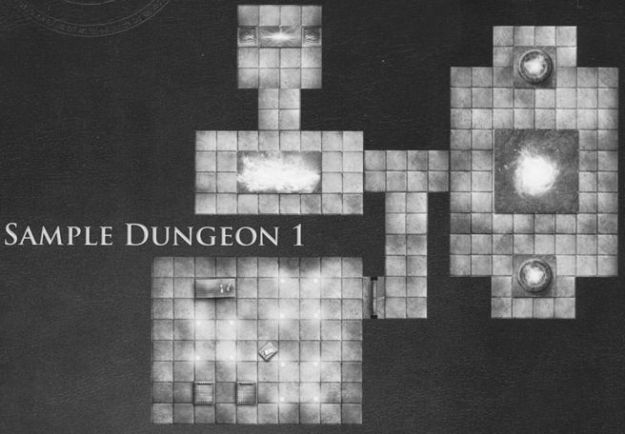DT2 Arcane Corridors sample dungeon 1