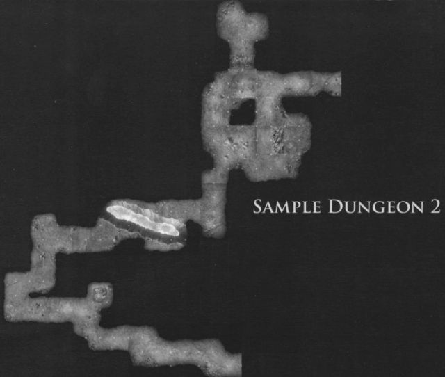 DT5 Lost Caverns of the Underdark sample dungeon 2