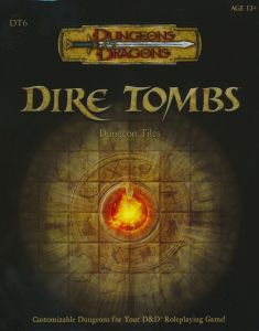 DT6 Dire Tombs front cover