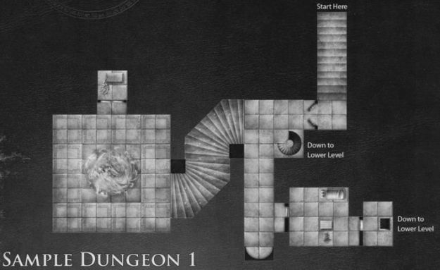 DT7 Fane of the Forgotten Gods sample dungeon 1