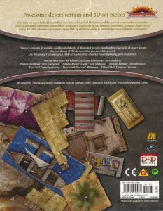DU7 Desert of Athas back cover
