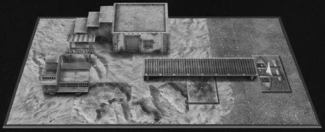 DU7 Desert of Athas sample dungeon