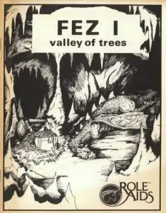 FezI The Wizard's Vale was originally printed as Fez I Valley of Trees