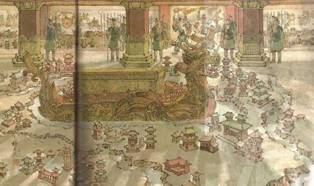 Sepulcher of China's first emperor