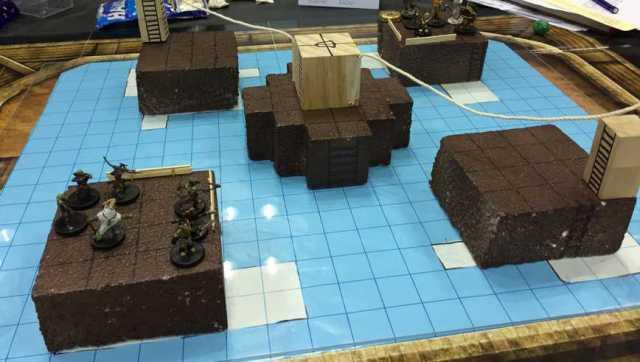 Shackles of Blood flooded arena
