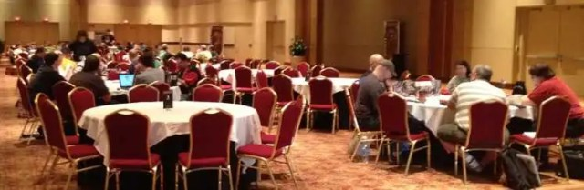 I've learned a lot about dungeon mastering in rooms like this at Origins