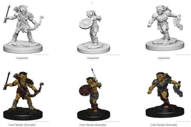 Nolzur's Marvelous Unpainted Minis: Goblins