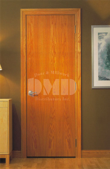 Flush Red Oak Solid Core 7 0 84 Door And Millwork
