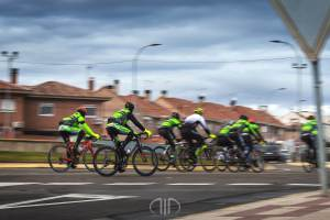 ciclistas panning barrido 1