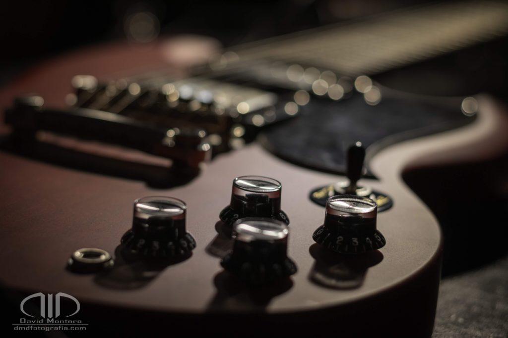 Guitarra eléctrica dmd fotografía
