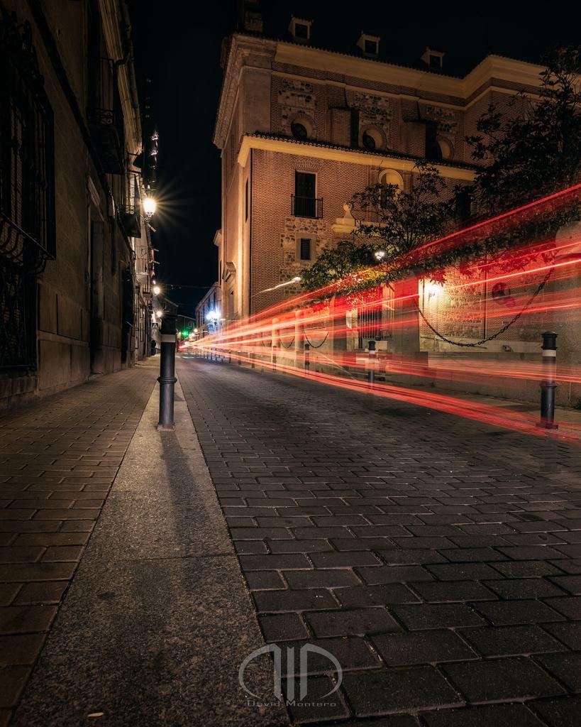 Illescas light trails estelas fotografia nocturna