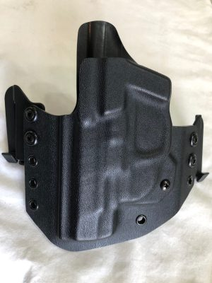 "S&W M&P Shield 4"" red dot Crimson Trace Laser M&P kydex holster"