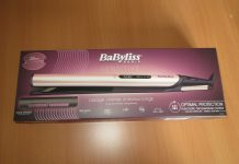 Lisseur BABYLISS sensitive