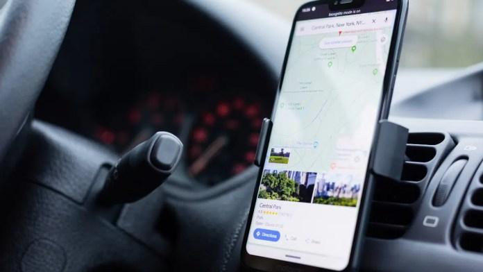 tarifs des péages google maps