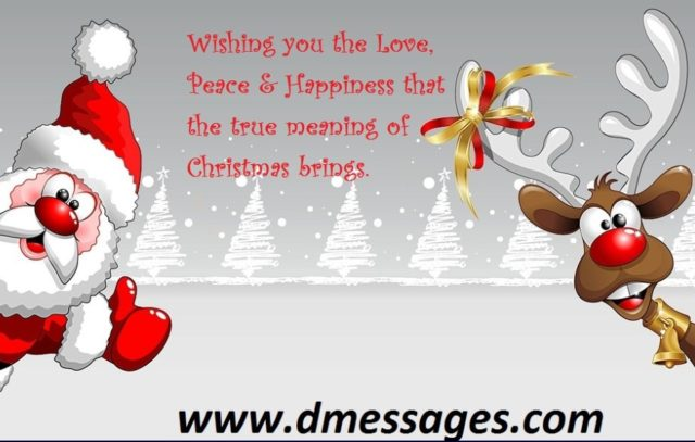 christmas emotional messages 2019