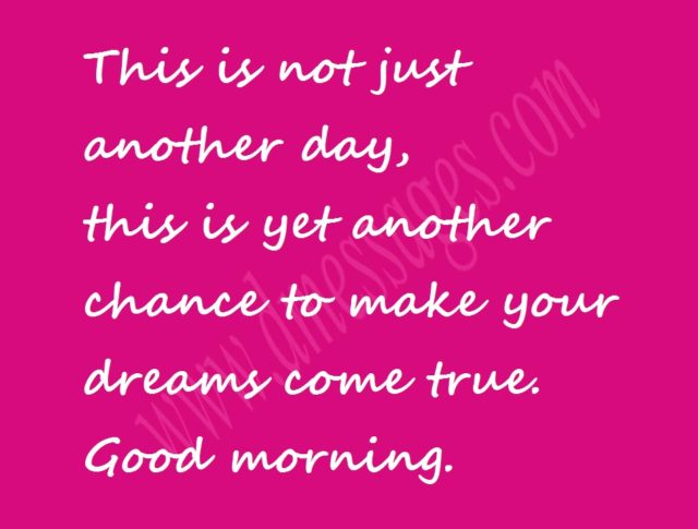 good morning sms for mother