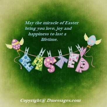 Beautiful easter messages