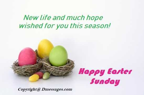 Easter sms messages friends