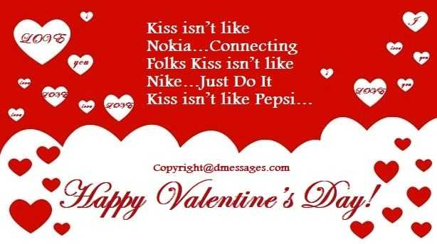 Valentine day status in english