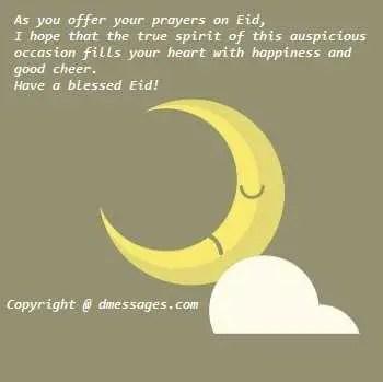 Happy Eid mubarak sms for best friend - Eid mubarak sms for best friend