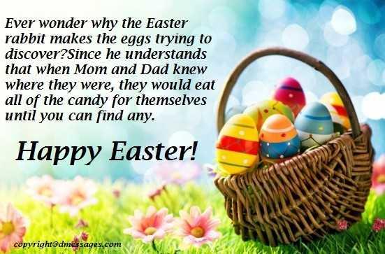 easter wishes for family