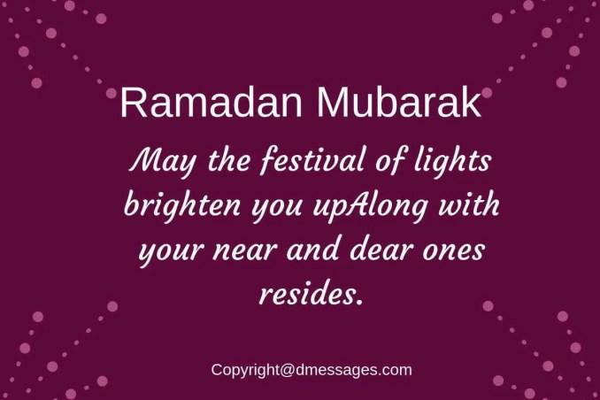 advance ramadan mubarak sms