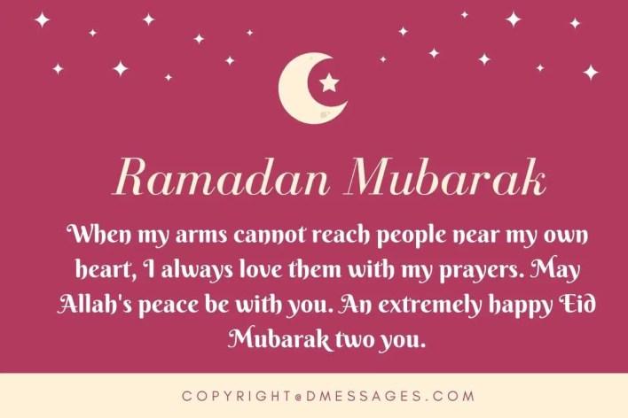 end of ramadan sms
