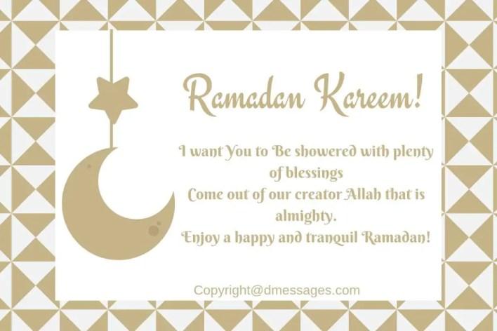 ramadan greeting text in english
