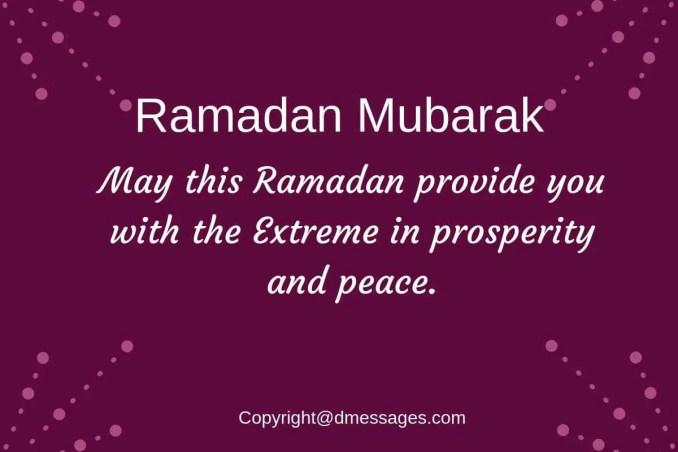 ramadan kareem messages sms