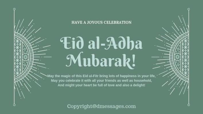 eid mubarak wishes for girlfriend