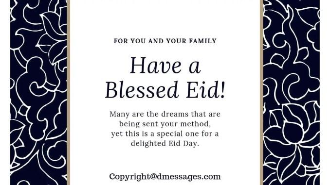 what does eid mubarak mean
