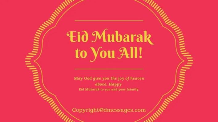what is eid mubarak