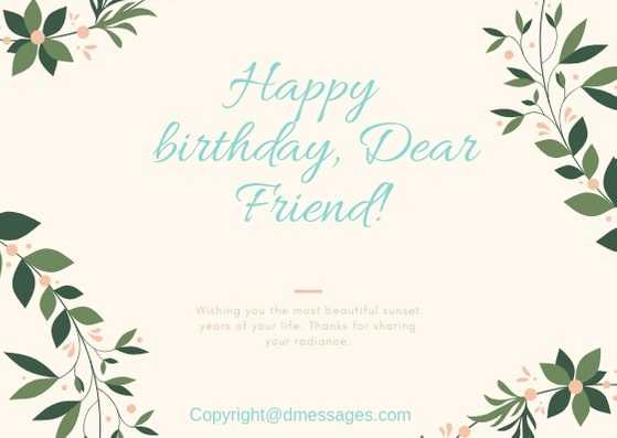 best birthday wishes for a friend