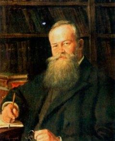 Портрет Михайла Грушевського. Художник Фотій Красицький