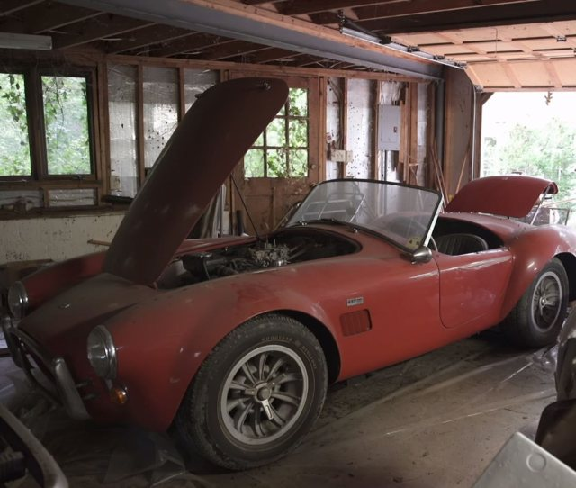 This Guy Found A Shelby Cobra  And A Ferrari  Gtb In A Barn Carbuzz
